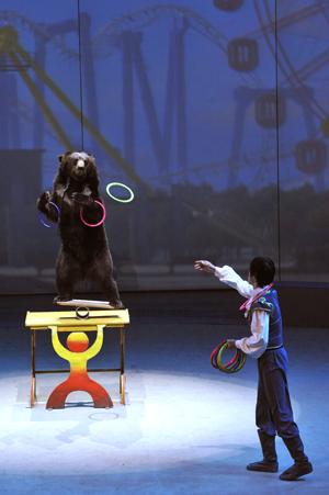 上海马戏城欢乐马戏演出剧照